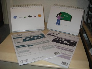 The CELF 4 UK picture books and scoring forms