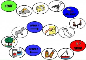 Simple speech therapy S game