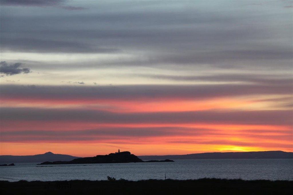 Summer Sunset North Berwick, East Lothian